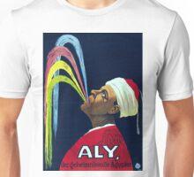 Vintage Vaudeville Aly, the Mysterious Egyptian Unisex T-Shirt