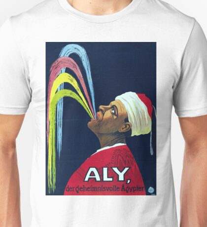 Vintage Vaudeville Aly, the Mysterious Egyptian Unisex T-Shirt