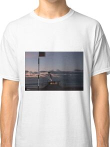 Frankston Pier at sunset Classic T-Shirt