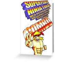gravity falls Rumble McSkirmish fight fighters  Greeting Card