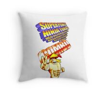 gravity falls Rumble McSkirmish fight fighters  Throw Pillow