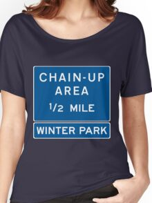Chain Up! - Winter Park/Mary Jane! Women's Relaxed Fit T-Shirt