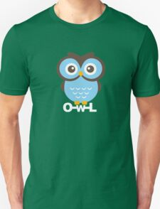 Owl Duvet - Good Night Unisex T-Shirt