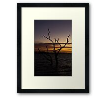 Taylors Lake - Sunset Framed Print