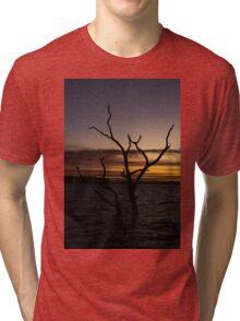 Taylors Lake - Sunset Tri-blend T-Shirt
