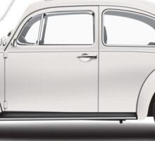 1969 Volkswagen Beetle Sedan - Toga White Sticker