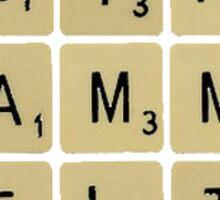 Alpha Gamma Delta Scrabble Sticker