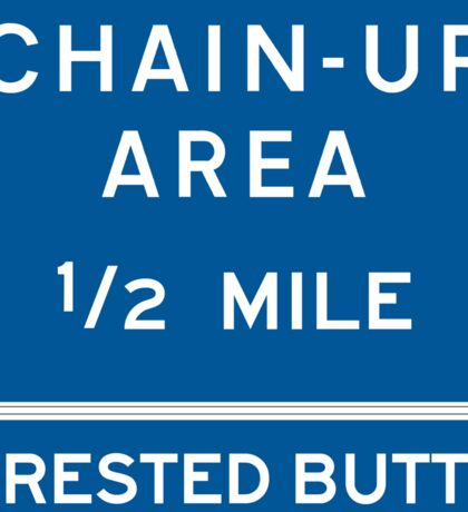 Chain Up! - Crested Butte Sticker