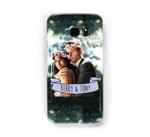 Kerry & Tony - Flower Crown Samsung Galaxy Case/Skin