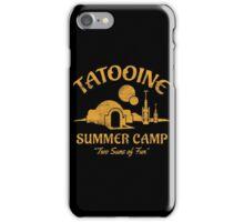 Tatooine Summer Camp iPhone Case/Skin