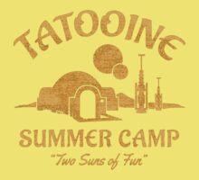 Tatooine Summer Camp One Piece - Short Sleeve