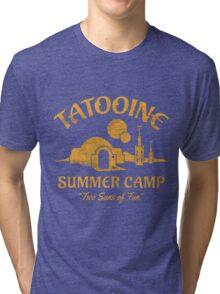 Tatooine Summer Camp Tri-blend T-Shirt