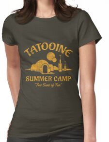 Tatooine Summer Camp Womens Fitted T-Shirt