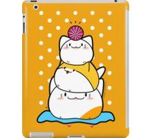 Kawaii Cat Aiko With Yarn Ball & Friends iPad Case/Skin