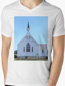 Geeveston Community Church, Tasmania Mens V-Neck T-Shirt