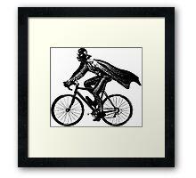 Darth Rider Framed Print