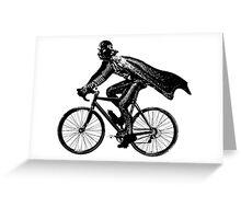 Darth Rider Greeting Card