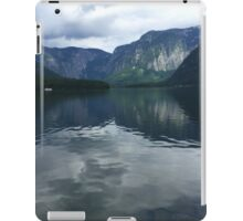 Picturesque Lake in Hallstatt, Austria (2) iPad Case/Skin