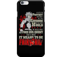 Fairy Tail Hoodie iPhone Case/Skin