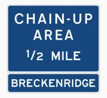 Chain Up! - Breckenridge Kids Tee