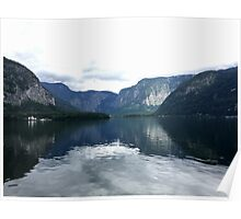 Picturesque Lake in Hallstatt, Austria (1) Poster