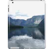Picturesque Lake in Hallstatt, Austria (1) iPad Case/Skin