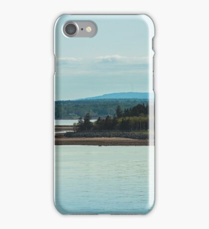 Nova Scotia Lighthouse Oceanscape and Landscape iPhone Case/Skin