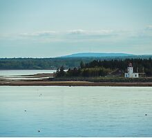 Nova Scotia Lighthouse Oceanscape and Landscape by Tanya Legere