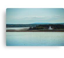 Nova Scotia Lighthouse Oceanscape and Landscape Canvas Print