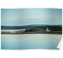 Nova Scotia Lighthouse Oceanscape and Landscape Poster