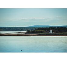Nova Scotia Lighthouse Oceanscape and Landscape Photographic Print