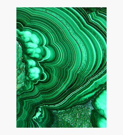 Malachite Photographic Print