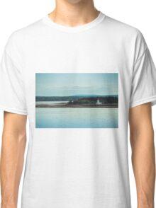 Nova Scotia Lighthouse Oceanscape and Landscape Classic T-Shirt