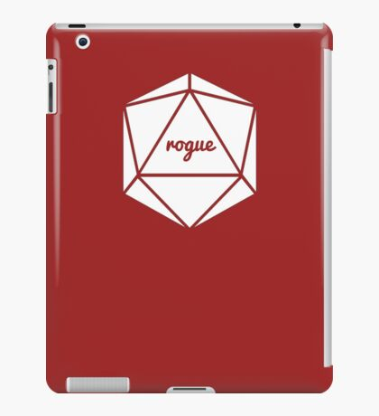 __dungeons and dragons rogue iPad Case/Skin