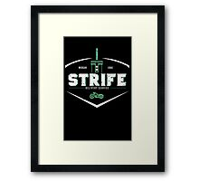 Strife Delivery Service Framed Print