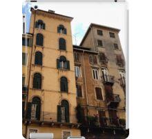 Verona Street Scene iPad Case/Skin