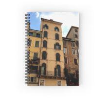 Verona Street Scene Spiral Notebook