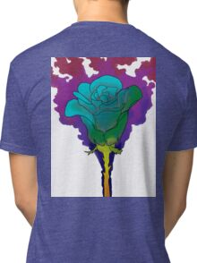 Abstract Rose Tri-blend T-Shirt