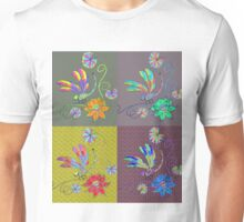 Dragonfly Collage Unisex T-Shirt