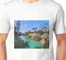 Little Blue Lake, Tasmania, Australia Unisex T-Shirt