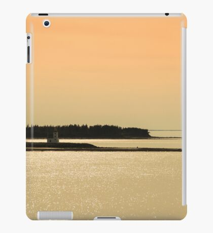 Nova Scotia Shoreline at Sunset Photograph iPad Case/Skin