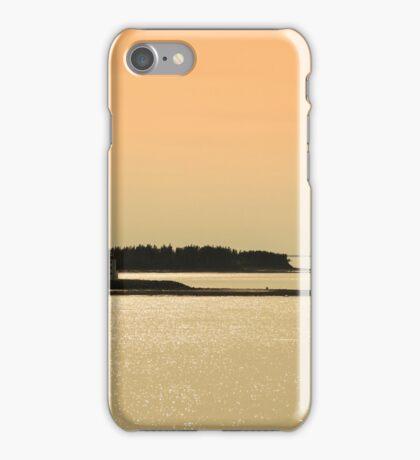 Nova Scotia Shoreline at Sunset Photograph iPhone Case/Skin