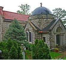 Church of St Elizabeth of Hungary, Eureka Springs, Arkansas by Margaret  Hyde