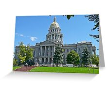 Capitol Building, Denver, Colorado, USA Greeting Card