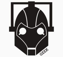 Geek Shirt #1 Cyberman (Black) Kids Clothes
