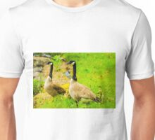 Canadian Geese and babies Unisex T-Shirt