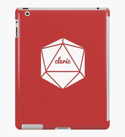 __dungeons and dragons cleric iPad Case/Skin