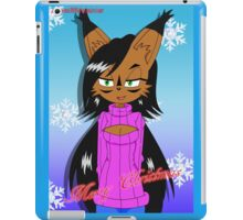 Xmas Nicole iPad Case/Skin