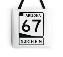 AZ 67 - The Road to the North Rim Tote Bag
