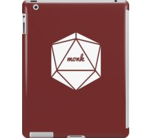 __dungeons and dragons monk iPad Case/Skin